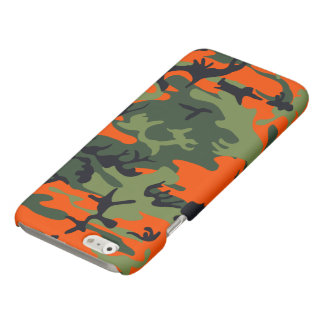 Hunters Camouflage Pattern Matte iPhone 6 Case