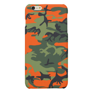 Hunters Camouflage Pattern Matte iPhone 6 Plus Case