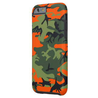 Hunters Camouflage Pattern Tough iPhone 6 Case