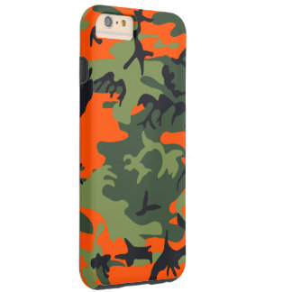 Hunters Camouflage Pattern Tough iPhone 6 Plus Case