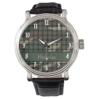 Hunter's Camouflage Wristwatch