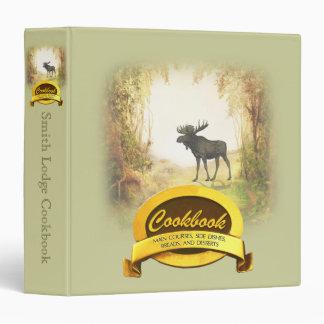 Hunter's Cookbook Vinyl Binders