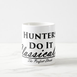 Hunters Do It Classically Mug