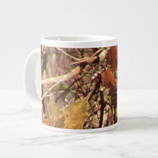 Hunter's Fall Nature Camo Camouflage Painting Large Coffee Mug