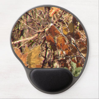 Hunter's Fall Nature Camouflage Painting Decor Gel Mouse Pad