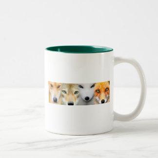 Hunter's Gaze Two-Tone Coffee Mug