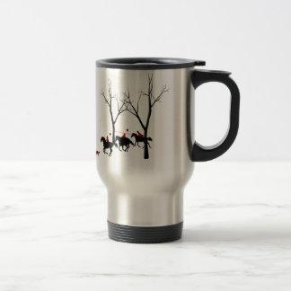 hunters hunted travel mug