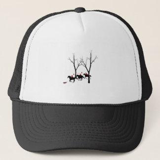 hunters hunted trucker hat