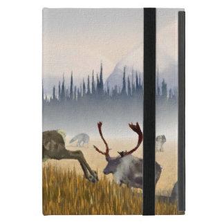 Hunters In The Mist (Caribou) iPad Mini Cover