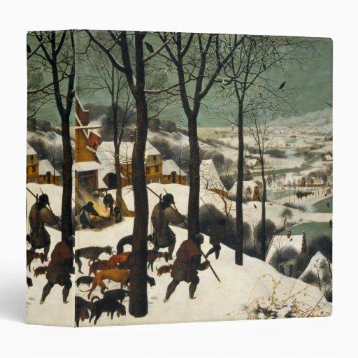 Hunters in the Snow by Pieter Bruegel the Elder Binder