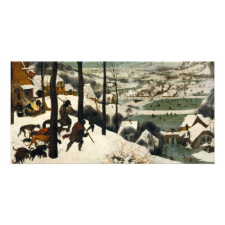 Hunters in the Snow by Pieter Bruegel the Elder Card