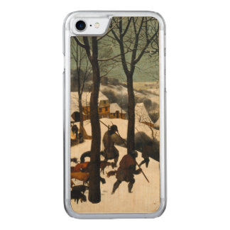 Hunters in the Snow by Pieter Bruegel the Elder Carved iPhone 7 Case