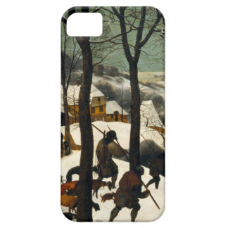 Hunters in the Snow by Pieter Bruegel the Elder iPhone 5/5S Cases