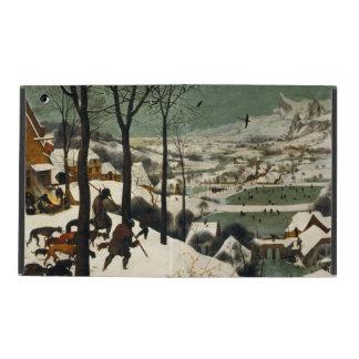 Hunters in the Snow by Pieter Bruegel the Elder iPad Cover
