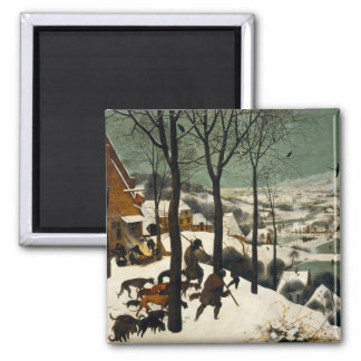 Hunters in the Snow by Pieter Bruegel the Elder Magnet