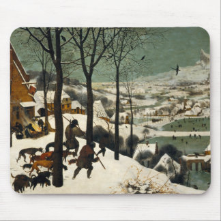 Hunters in the Snow by Pieter Bruegel the Elder Mouse Pad