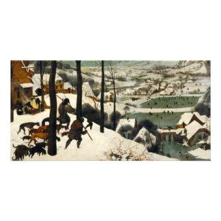 Hunters in the Snow by Pieter Bruegel the Elder Photo Card