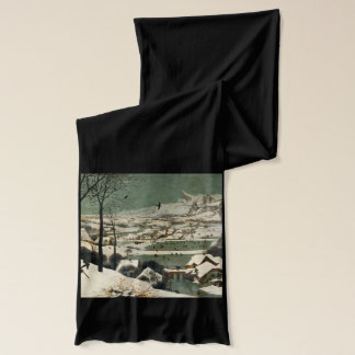 Hunters in the Snow by Pieter Bruegel the Elder Scarf