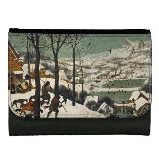 Hunters in the Snow by Pieter Bruegel the Elder Wallets For Women