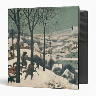 Hunters in the Snow - January 1565 Vinyl Binders