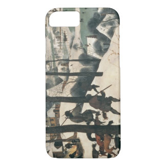 Hunters in the Snow - January, 1565 iPhone 7 Case