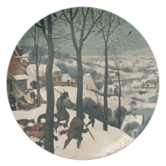 Hunters in the Snow - January, 1565 Plate