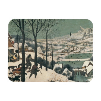 Hunters in the Snow - January, 1565 Rectangular Photo Magnet