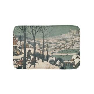 Hunters in the Snow - january, 1565 Bath Mats