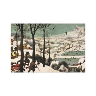 Hunters in the Snow Pieter Bruegel Canvas Stretched Canvas Prints