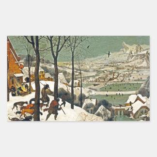 Hunters in the Snow Sticker