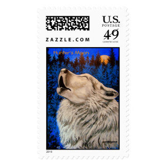 Hunter's Moon Postage Stamps Postage Stamps