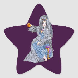 Hunter's Moon Star Sticker
