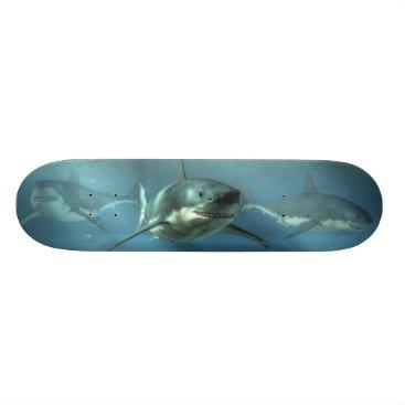 Beach Themed Hunters of the Deep Skateboard Deck