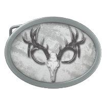 Hunters Outdoors man Deer Skull Belt Buckle