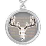 Hunter's Prayer Necklace