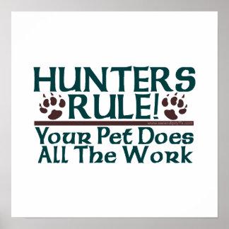 Hunters Rule! Poster