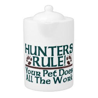 Hunters Rule! Teapot