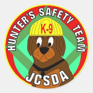 Hunter's_Safety_Team_2[1] Classic Round Sticker