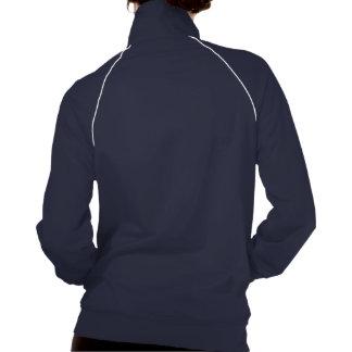 Huntess Collar Zip Up Track Jackets