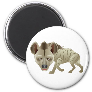 Huntin' Hyena 2 Inch Round Magnet