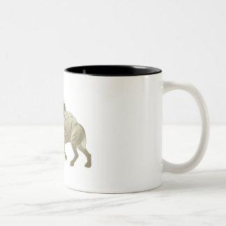 Huntin' Hyena Two-Tone Coffee Mug