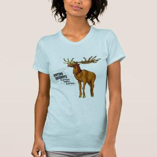Hunting accidents. Karma, baby, karma. (apparel) T-Shirt