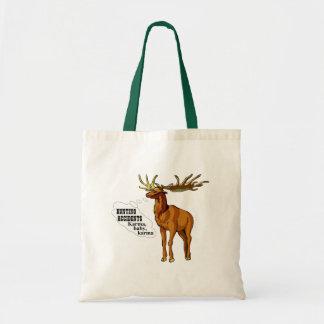 Hunting accidents. Karma, baby, karma. (tote bag) Tote Bag
