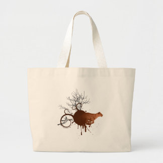 Hunting African lioness Jumbo Tote Bag