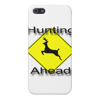 Hunting Ahead  black iPhone SE/5/5s Case