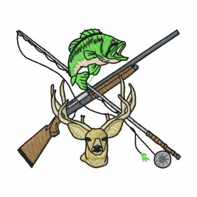 Hunting and Fishing Logo Jacket