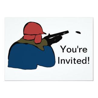 Hunting Annual Season Party Invitation