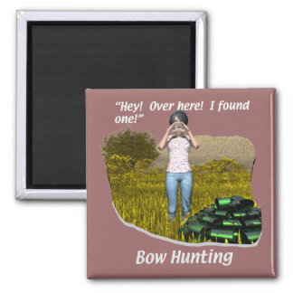 Hunting - Archery - Bow Hunting Magnet