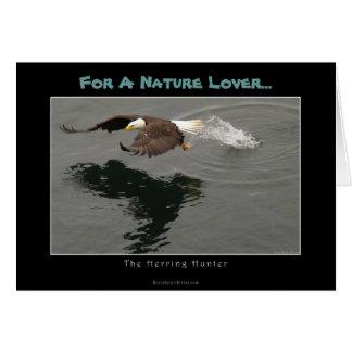 Hunting Bald Eagle Gift Item Greeting Card