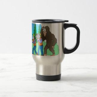 Hunting Bigfoot Travel Mug